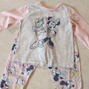 Size 2 Disney Minnie Mouse Pijamas